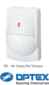 Bellbond_Security_Optex_RX_Series_PIR_Pet_Tolerant_Motion_Detector
